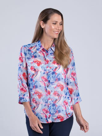 Eliana 3/4 Sleeve Shirt