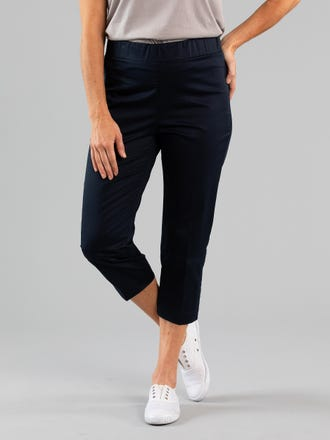 Surrey 3/4 Embroidered Pant