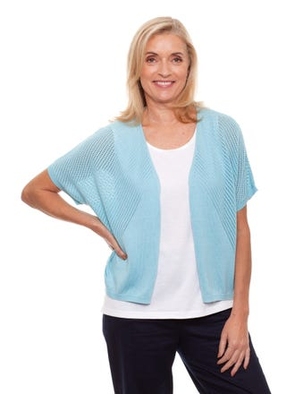Sadie Short Sleeve Cardigan