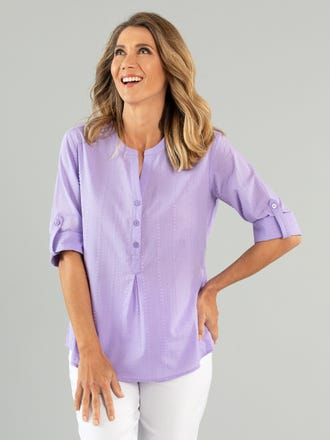 Alessia 3/4 Sleeve Shirt