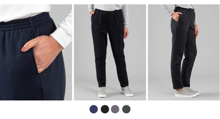 Discover the Snowy Mt Fleece Pant